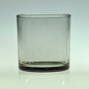10X10 ROUND STATEMENT GLASS, WARM GREY OUTSIDE 475ML